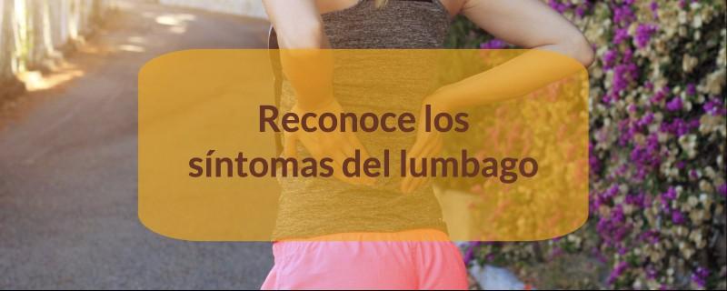 Que es lumbalgia sintomas